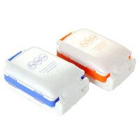 小药盒便携一周分装药盒随身收纳药品盒2个装