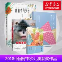 2018中国好书少儿获奖图书(共4册 大水 红唇美猴传奇 颜料坊的孩子 小翅膀)