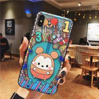 Disney/迪士尼iphonexs max手机壳挂绳米奇米妮硅胶8X保护套苹果x/xs卡通XR全包 XR【6.1】