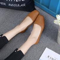 大东同款白色护士鞋妈妈工作鞋女牛筋软底女鞋舒适皮鞋平底单鞋女