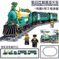 火车模型大人高难度电动�犯呋�木男孩子生日礼物
