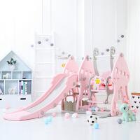 儿童室内滑梯加厚小型滑滑梯家用多功能宝宝滑梯秋千组合小孩玩具