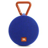 JBL CLIP2蓝牙防水音乐盒迷你音响户外便携小音箱HIFI低音通话 蓝