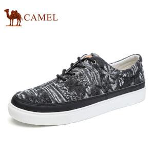 camel 骆驼男鞋 春季新款潮流鞋子休闲个性帆布鞋休闲男鞋