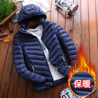 千帅 可脱帽棉衣男冬季韩版学生bf短款纯色棉服保暖女棉服潮帅气外套M666
