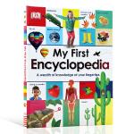 我的百科全书 DK出版 英文原版 小学生英语学习教材工具书 My First Encyclopedia 儿童科普读物