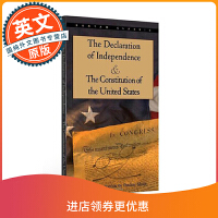 独立宣言与美国宪法 英文原版 The Declaration of Independence and The Cons