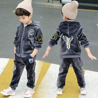 男童秋冬装套装男宝宝5-6周岁小男孩衣服