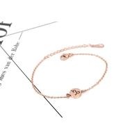韩国简约18K玫瑰金星座手链之摩羯座 送闺蜜情侣