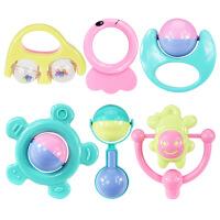 婴儿玩具早教益智0-1岁宝宝男女孩手摇铃套装 满月周岁生日礼物六一圣诞节新年礼品
