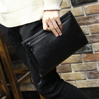 荔枝纹男士手包软皮大容量信封包手拿包休闲手抓包夹包潮