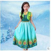 儿童冰雪奇缘公主裙迪士尼艾莎女王安娜爱莎礼服女童连衣裙子儿童服装支持礼品卡支付
