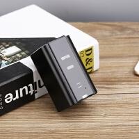 激光蓝牙无线投影送朋友创意文具手机ipad平板电脑虚拟镭射键盘 黑色金 X1新款 官方标配
