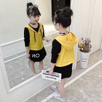 女童秋装裙子套装学生女孩儿童衣服