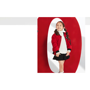 【1件4折到手价:199元】高梵新年装羽绒服短款男女宝宝棒球服版时尚休闲冬季外套潮