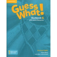 Guess What! American English Level 6 WorkBook with Online R