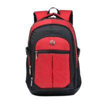 男生书包大学生高中生男士双肩背包15.6寸电脑包男女商务休闲书包尼龙布包 15寸
