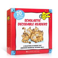 【全店300减100】英文原版 彩色 Decodable Readers Box Set Level A (20 Boo