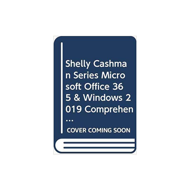 【预订】Shelly Cashman Series Microsoft / Windows 10 Comprehensive ... 9780357123867 美国库房发货,通常付款后3-5周到货!