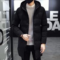冬季棉衣男韩版潮流中长款加厚外套反季羽绒棉袄帅气冬天男装棉服