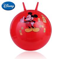 迪士尼伊诺特 加厚跳跳球卡通充气儿童坐骑动物玩具