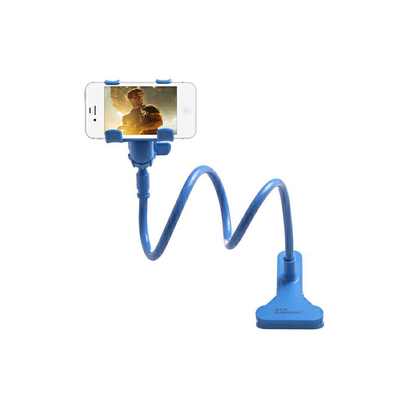 【当当自营】Easeyes爱易思 手机支架 懒人支架 车载支架 床头支架三星苹果华为HTC等6.3寸以下 蓝色床头支架,轻松解放双手,享受舒适乐趣