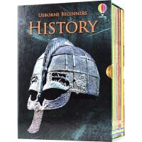 Usborne Beginners History 尤斯伯恩初学者系列 历史10册盒装 儿童英语科普 百科读物 6-9岁