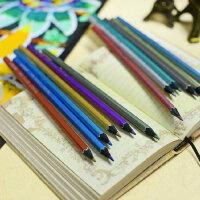 马可MARCO 专业辅助六角杆彩色铅笔 金属油漆彩铅六支装 5101B