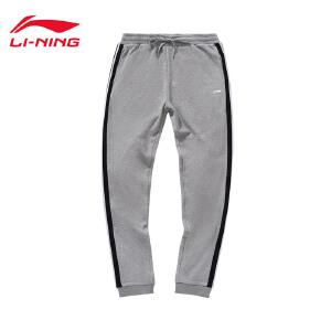 李宁卫裤女士新款运动生活长裤休闲裤子女装运动裤AKLM194