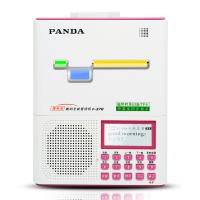PANDA/熊猫F-378复读机充电磁带录音机U盘MP3小学初中生儿童学生熊猫牌跟读听英语听力数码播放器 红色