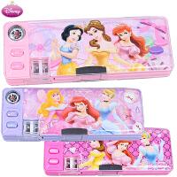 迪士尼白雪公主系列儿童塑料笔盒小学生多功能笔盒 文具盒铅笔盒5981