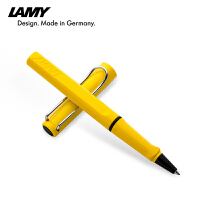 德国LAMY凌美签字笔 safari狩猎者兰博基尼黄 宝珠笔签字笔 走珠笔 学生商务签字笔 凌美签字笔礼品 书写顺畅流