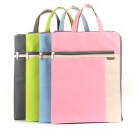 康百E7126两层电脑袋 休闲竖式手提袋 拎书袋 A4办公文件档案袋