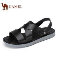 camel骆驼男鞋 夏季新品 凉鞋潮流时尚露趾沙滩鞋休闲凉鞋男