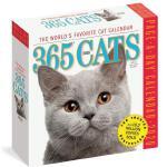 英文原版 365只猫 2020年日历 每天一页 萌宠摄影 进口台历 365 Cats Page-A-Day Calen