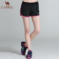 骆驼运动短裤 新品女款运动短裤跑步健身休闲短裤女