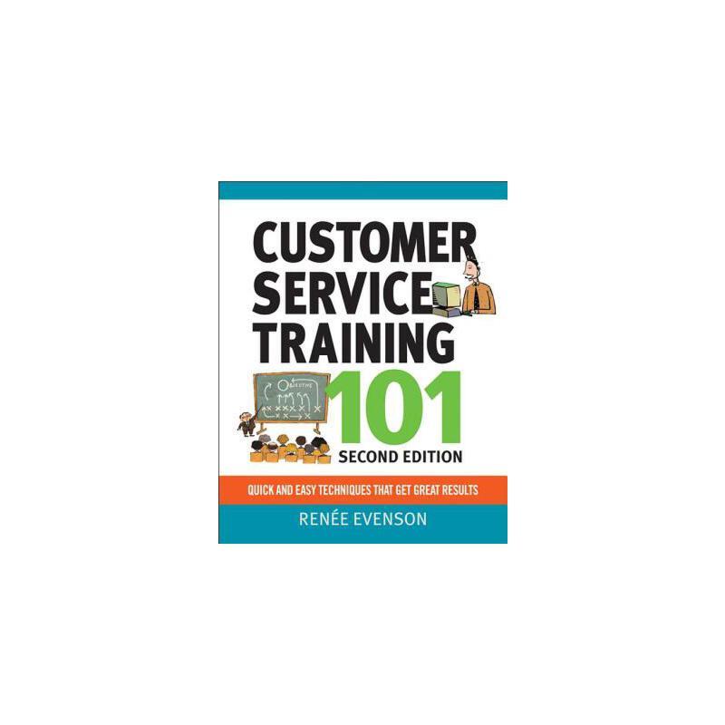 【预订】Customer Service Training 101 预订商品,需要1-3个月发货,非质量问题不接受退换货。