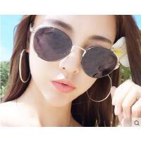 时尚女太阳镜 开车偏光墨镜 户外新款韩版明星同款墨镜女潮个性太阳镜圆脸长脸眼镜