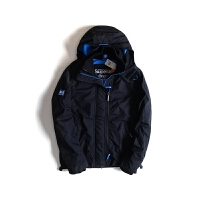 Superdry/极度干燥 男款夹克外套防风保温夹克加绒外套  专柜1199  SPD-M50009ZNF4