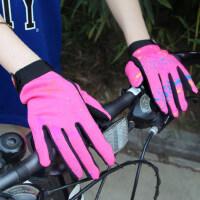 户外骑行手套女士 触摸屏自行车手套 户外运动保暖耐磨透气防滑手套