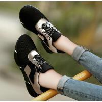 运动鞋女跑步鞋春季新款潮古奇天伦百搭韩版平底休闲春天单鞋8647