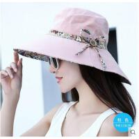 女大沿防晒防紫外线太阳帽帽子女夏天韩版潮百搭遮阳帽凉帽沙滩帽可礼品卡支付