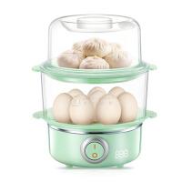 家用煮蛋器小型蒸蛋器自动断电迷你双层不锈钢蒸蛋羹机