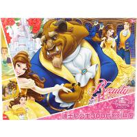 迪士尼拼图 美女与野兽盒装拼图儿童玩具300片装(古部拼图公主女孩)11DF3002710
