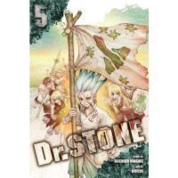 现货 石纪元 新石纪 第 5卷 英文原版 漫画 Dr. STONE, Vol. 5稻垣理一郎原作 Boichi作画