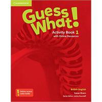 【预订】Guess What! Level 1 Activity Book with Online Resources