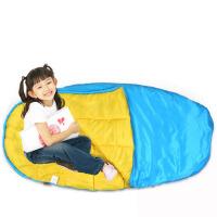 户外睡袋 纯棉儿童睡袋 春秋防踢被子 大童春夏季皆