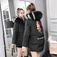 2018冬装新款女短款棉衣韩版加厚大毛领羽绒女士小棉袄外套潮