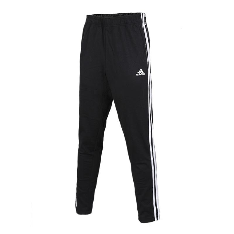Adidas阿迪达斯  ESS 3S T PNT SJ男子运动训练小脚长裤  BK7414   现ESS 3S T PNT SJ男子运动训练小脚长裤