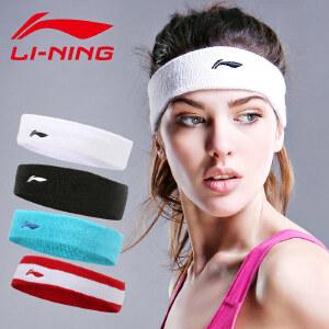 LI-NING/李宁护具 运动头带 护额止汗吸汗带 男女网球篮球跑步 头箍发箍头巾护头带